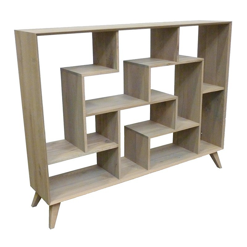 Tag re au style scandinave meuble de bureau for Meuble bureau etagere