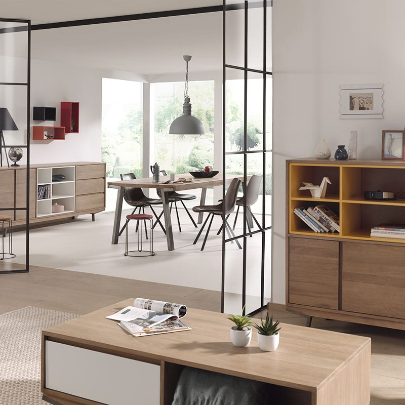 bout de canap en ch ne massif achat de meubles nordiques. Black Bedroom Furniture Sets. Home Design Ideas