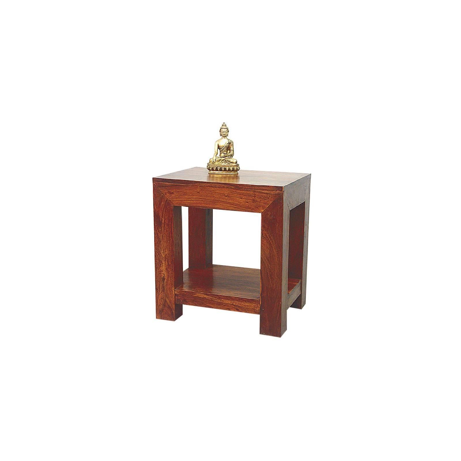 Chevet Palissandre Zen en bois massif