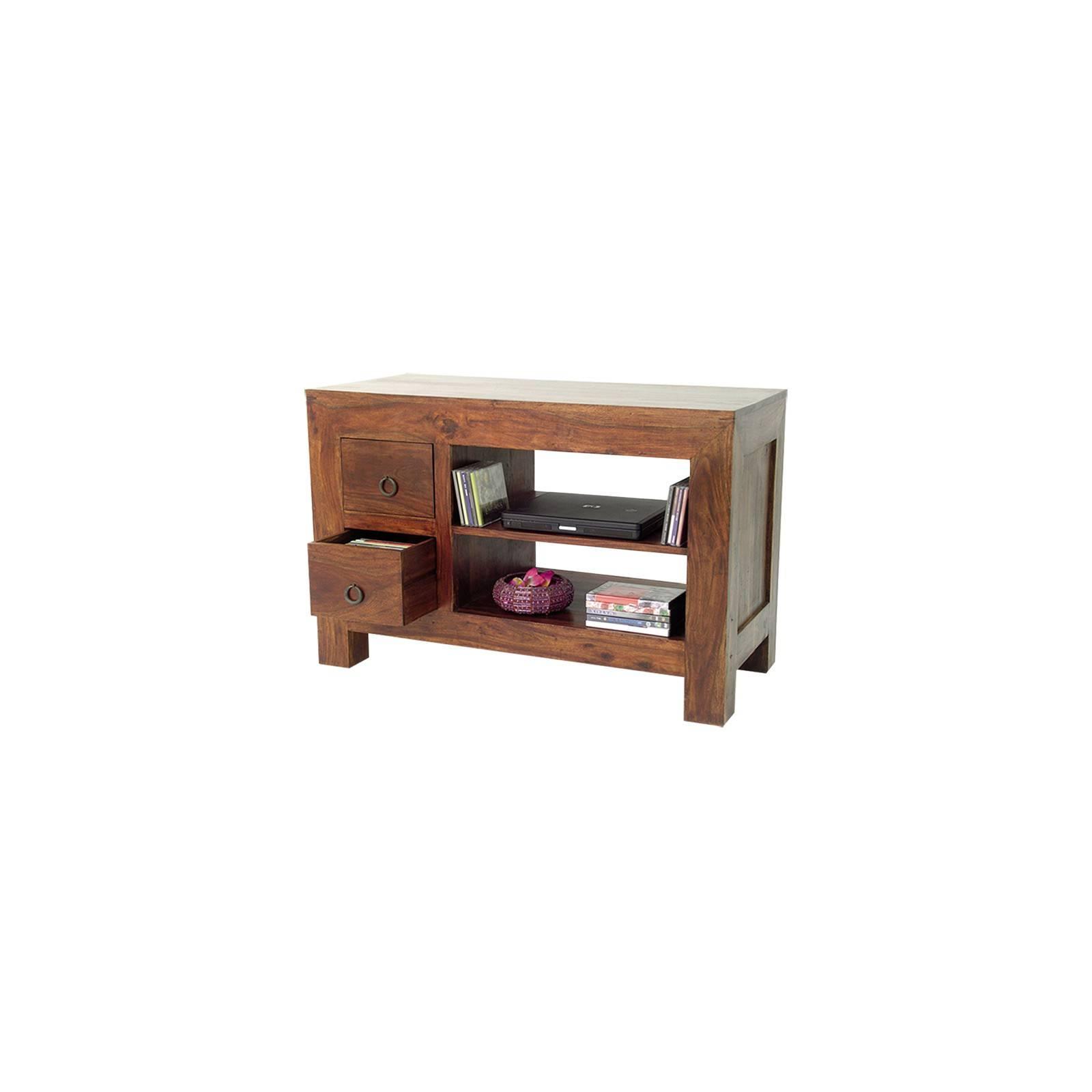 Petit meuble Tv en palissandre massif de la gamme Zen