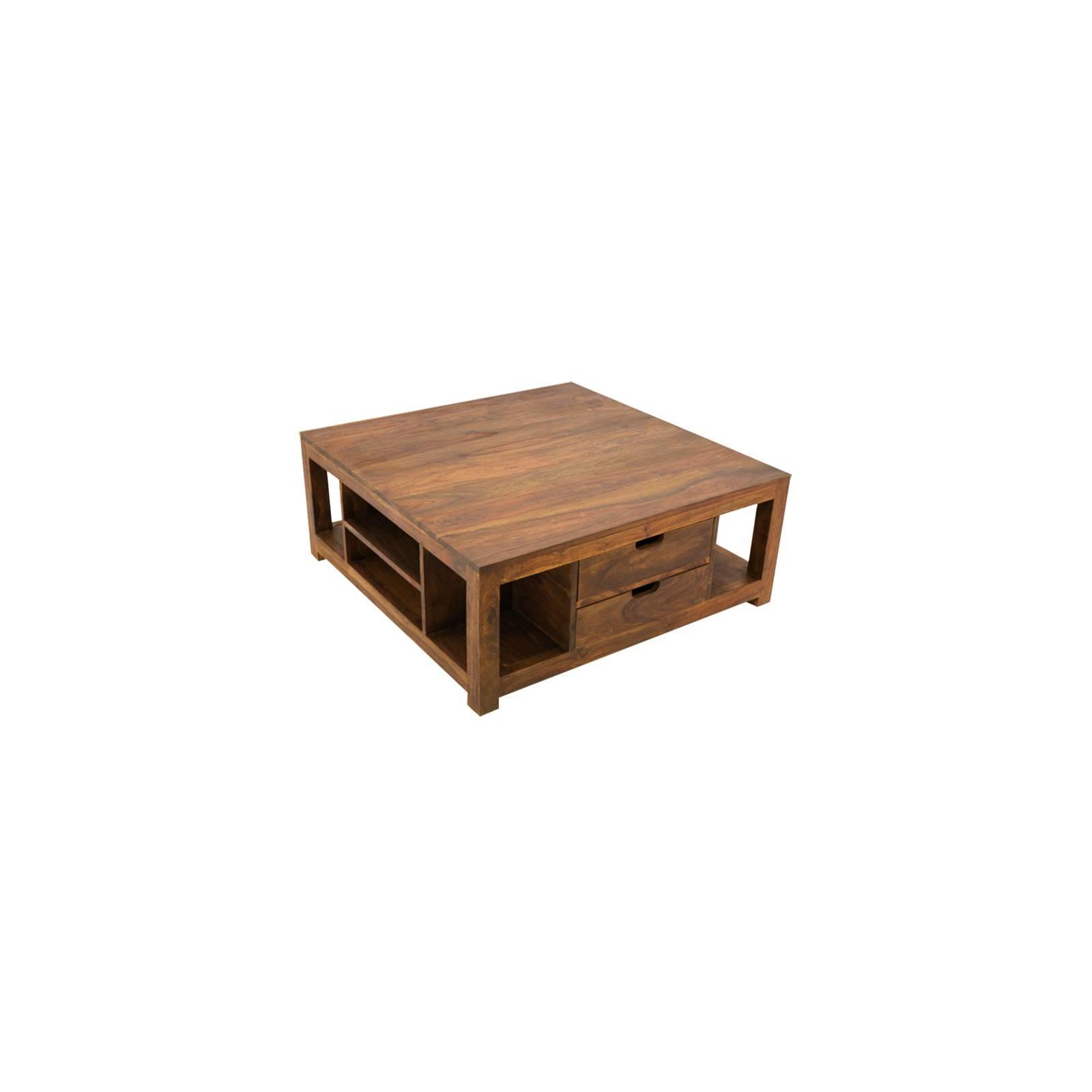 Table basse carrée au style Art Déco