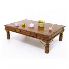 Table basse rectangulaire Palissandre New Delhi