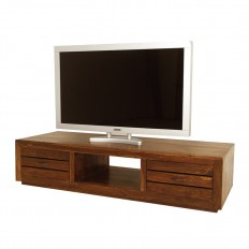Meuble Tv Palissandre tiroirs Okina