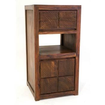 Petit meuble de rangement pour toute la maison bois exotique for Meuble africain