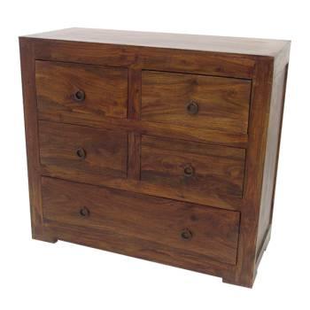 Commode Zen Palissandre - meubles bois exotique