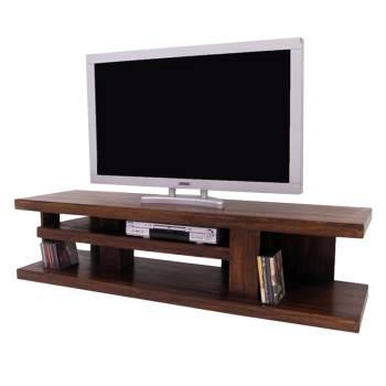 Meuble Tv Déstructuré Zen Palissandre - meubles bois exotique