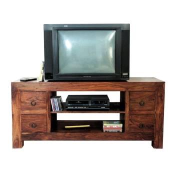 Meuble Tv 4 Tiroirs Palissandre Zen