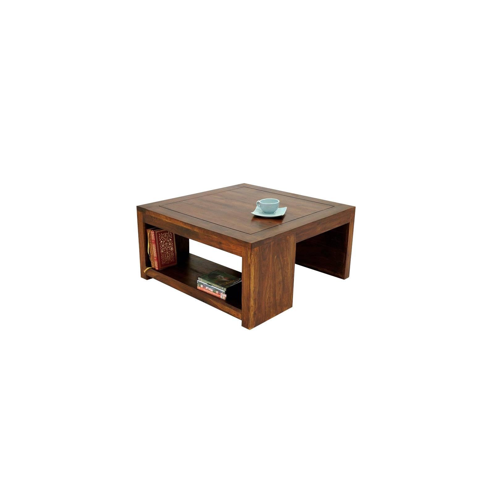 Table Basse PM Zen Palissandre - meuble en bois massif