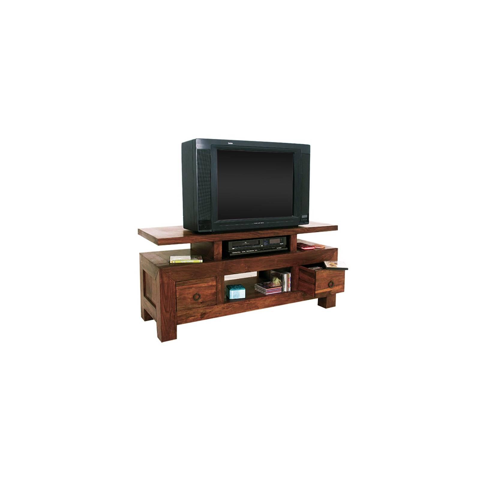Meuble Tv original à l'esprit ethnique design. Mobilier Lhassa