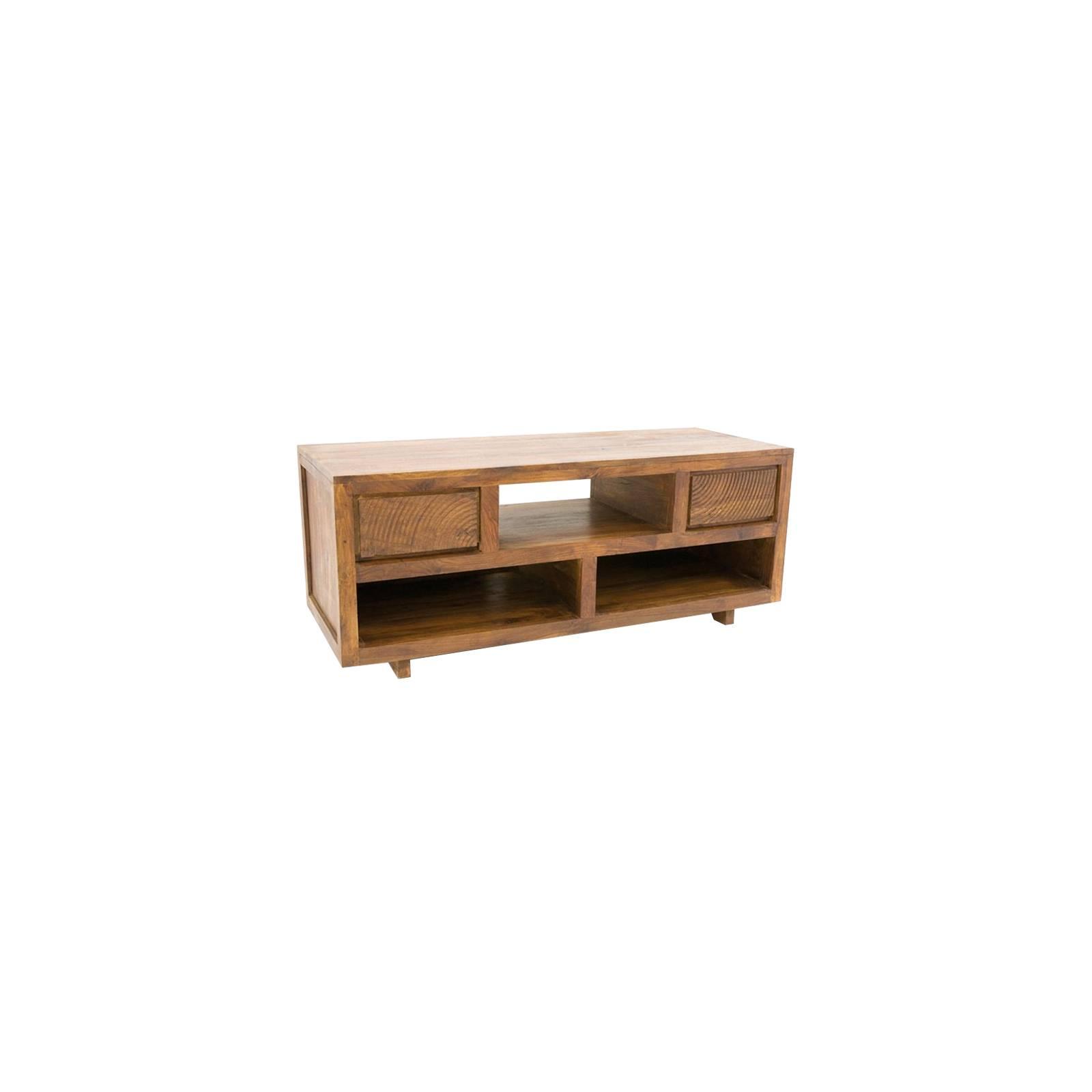 Meuble Tv Sikasso Palissandre - meubles de salon style ethnique