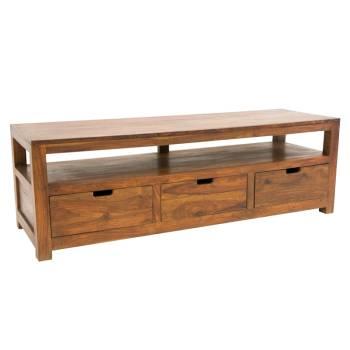 Meuble Tv GM Art Deco Palissandre - meubles en bois exotique