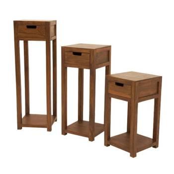 Sellette 3/S Art Déco Palissandre - meubles en bois exotique