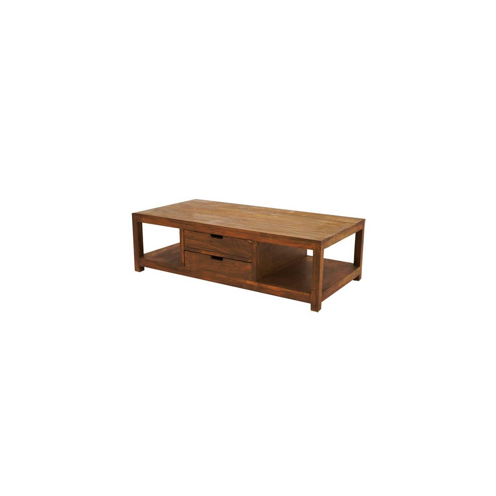 Table basse en palissandre. Mobilier Art Déco