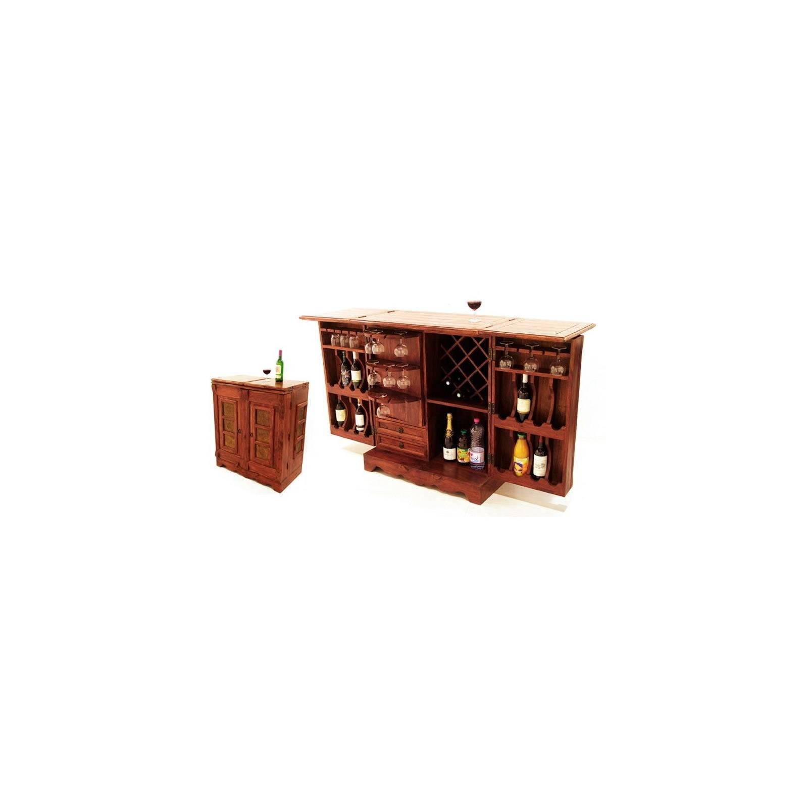 Bar Indien New Dehli Palissandre - meuble style ethnique