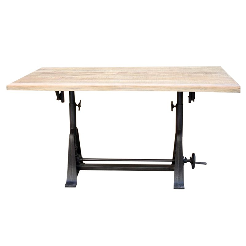 Table r glable en hauteur conforama for Chemin de table conforama
