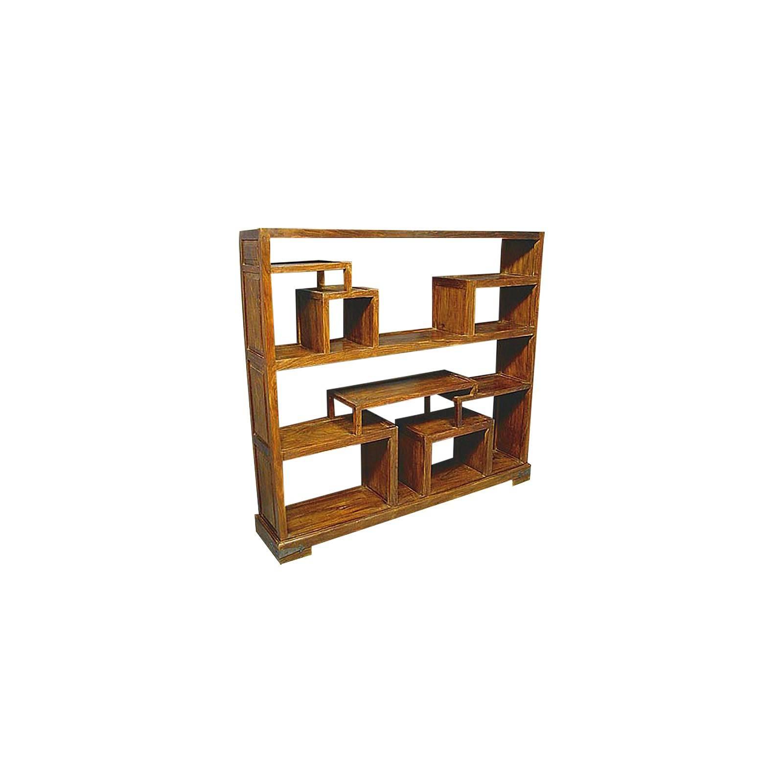 tag re en bois exotique d coration indienne lhassa. Black Bedroom Furniture Sets. Home Design Ideas