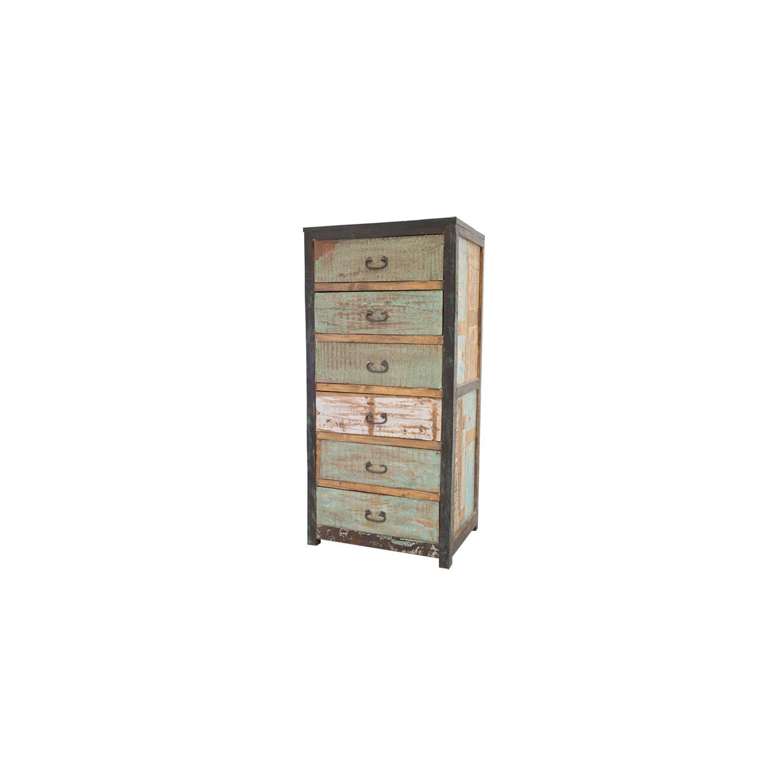 Chiffonnier en bois recyclé et au style industriel Butterfly
