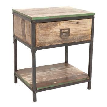 Déco écologique avec les meubles en bois recyclé Butterfly