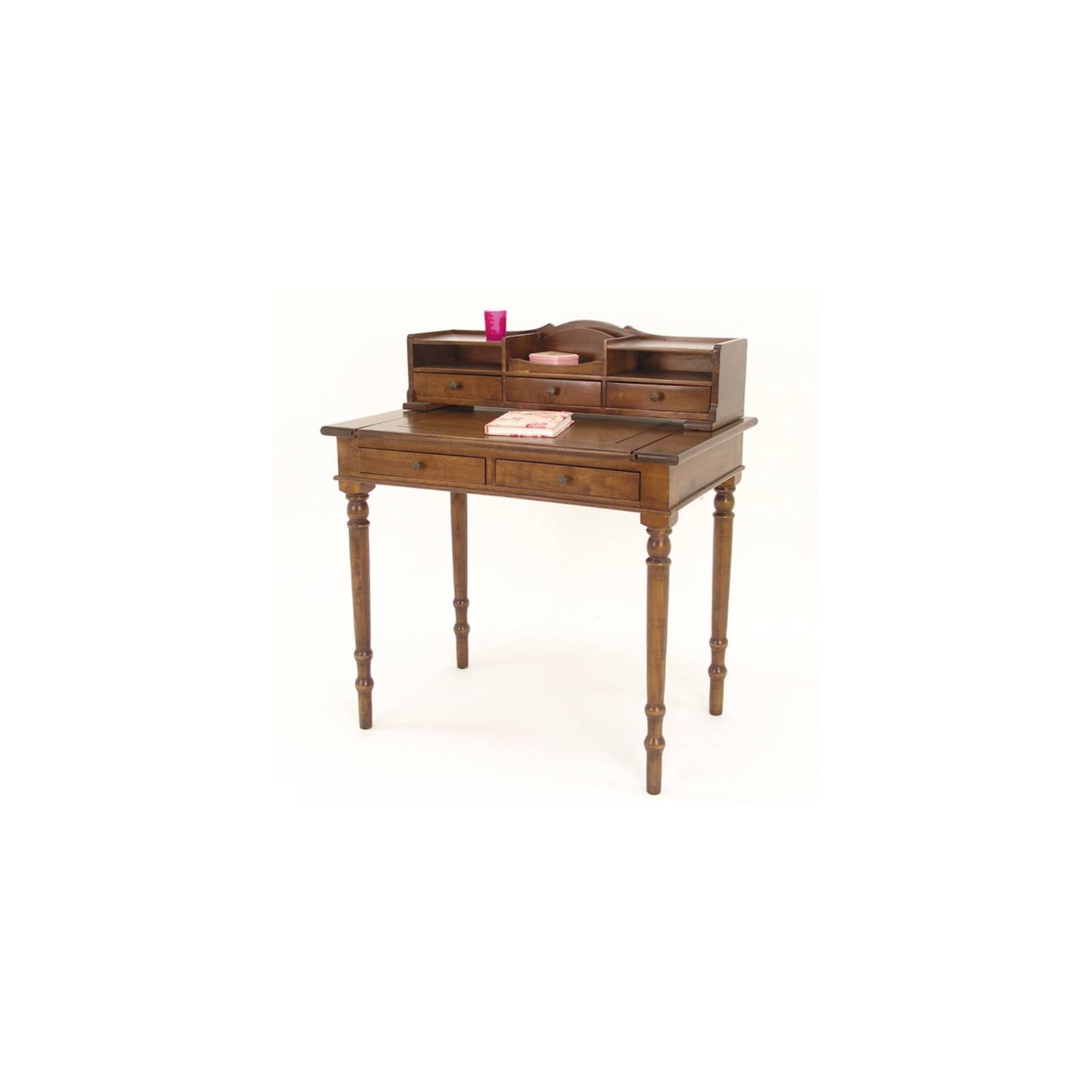Bureau rétro en bois massif. Collection de meubles Tradition