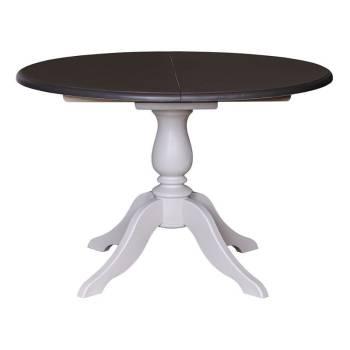 Table de repas ronde Riviera en bois massif : Mobilier tendance charme personnalisable