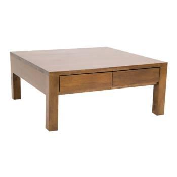 Table basse à tiroirs Fjord Hévéa