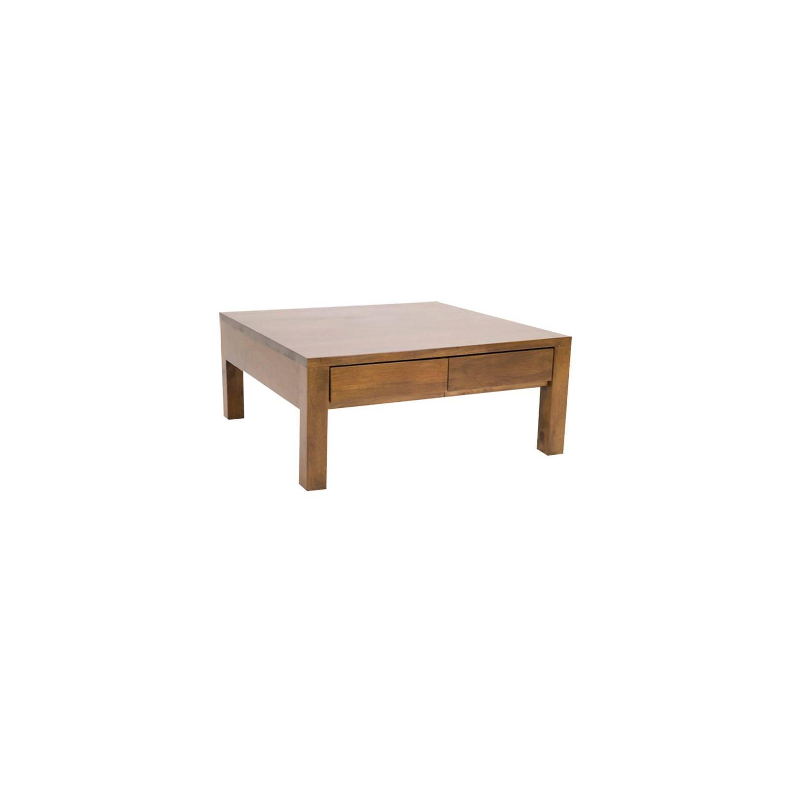 Table basse à tiroirs au style scandinave de la gamme Fjord