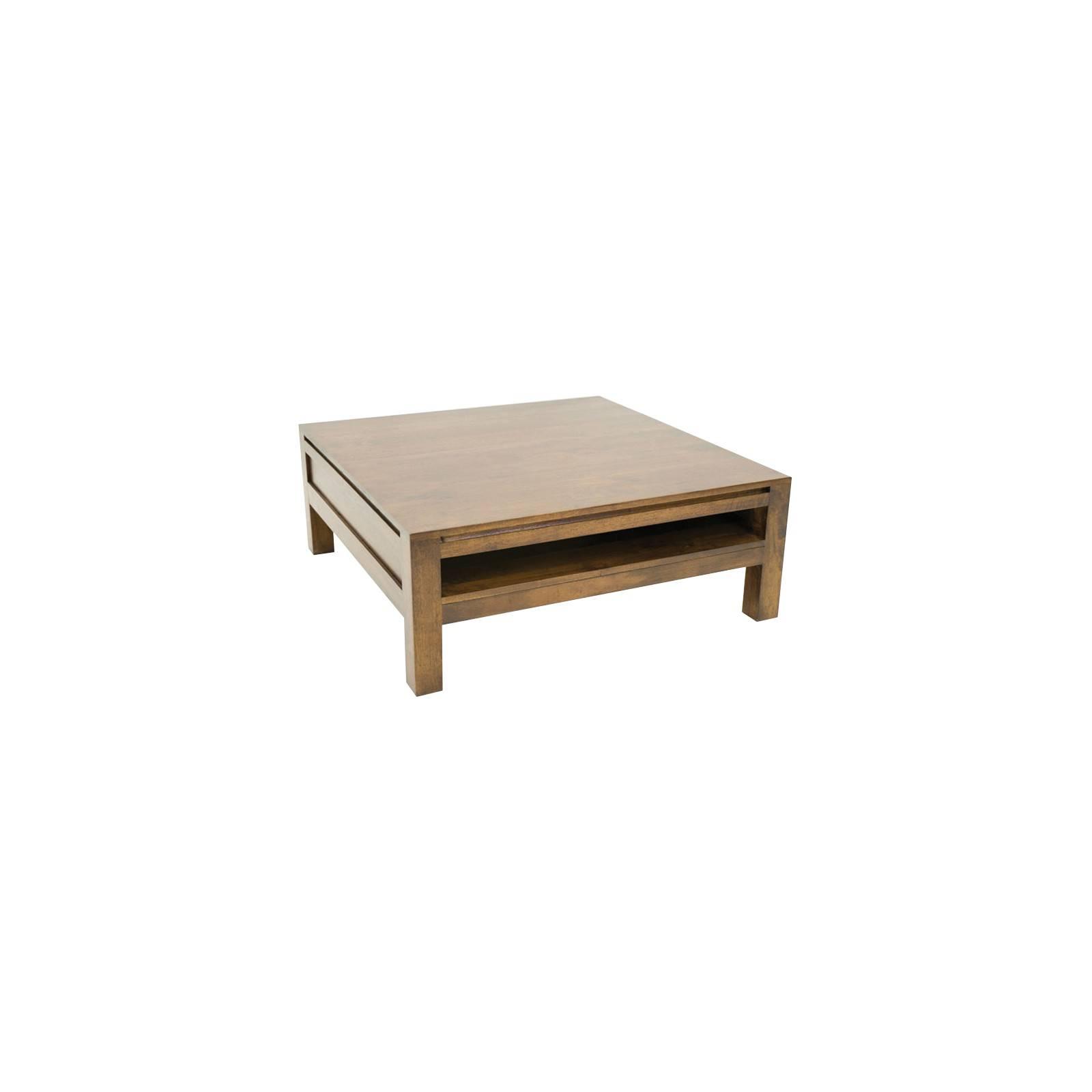 Table basse carrée Fjord. Mobilier au style nordique