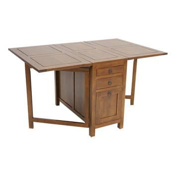 Table extensible Omega Hévéa