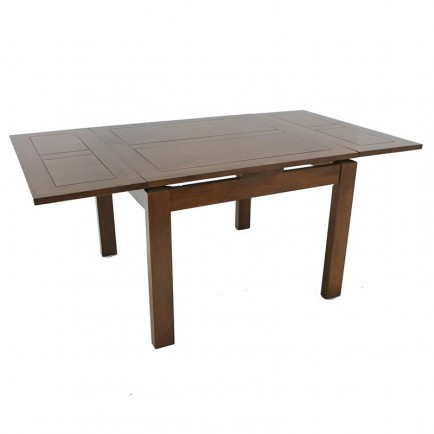 Table Carree Avec Rallonge Extensible Tables 160x160 Et 120x120