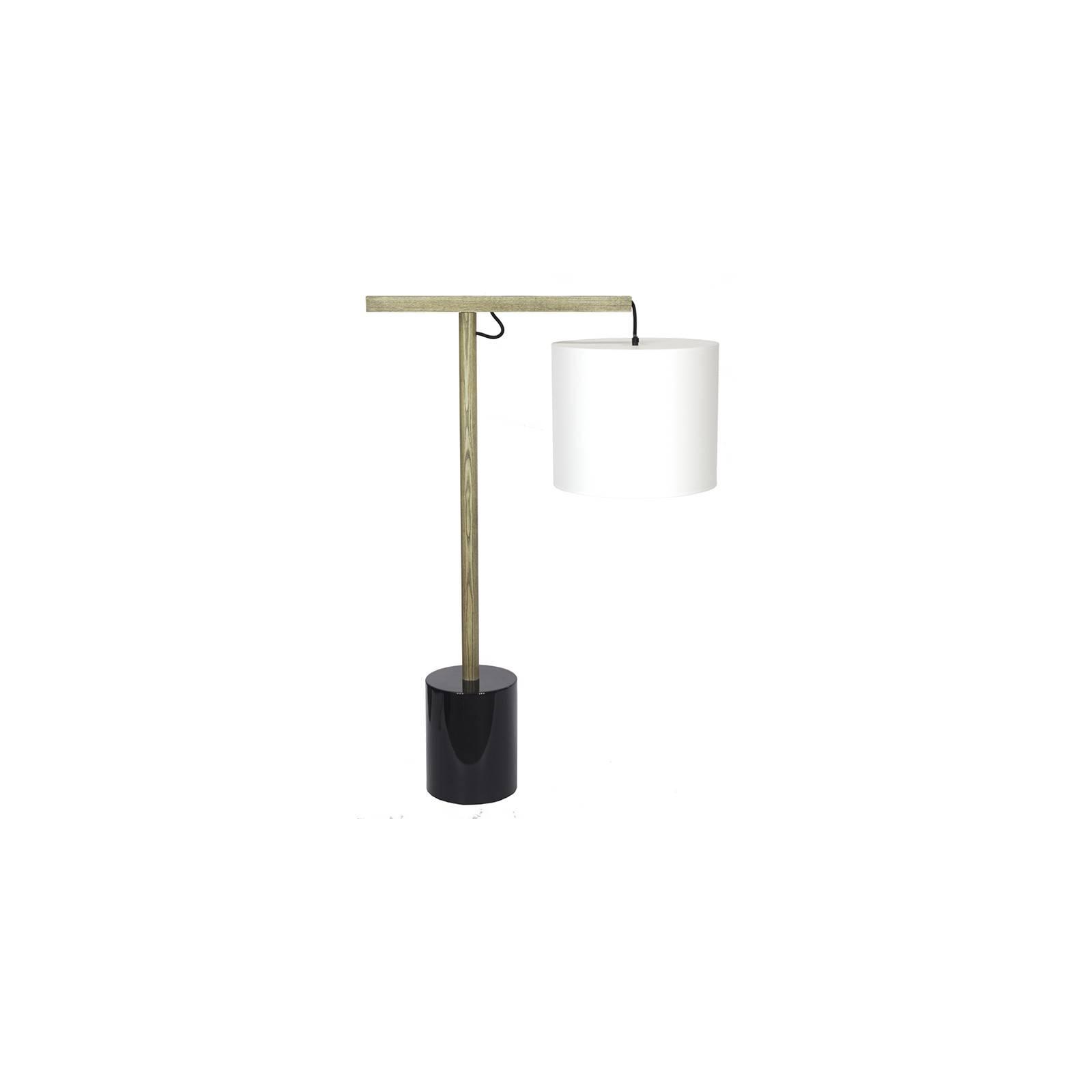 Déco originale pour la maison. Lampe Balance en bois massif