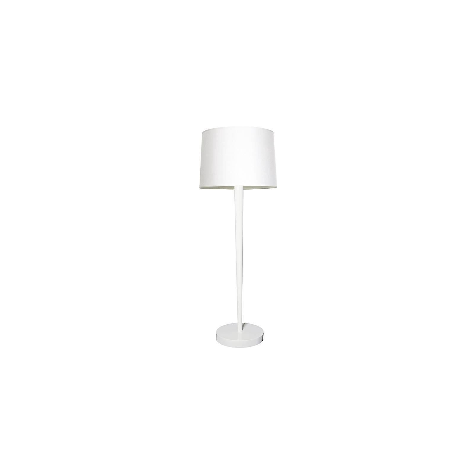 Lampadaire blanc au style design Ariane