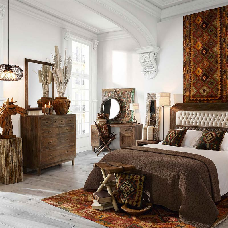 inspiration d co africaine commode terranova. Black Bedroom Furniture Sets. Home Design Ideas