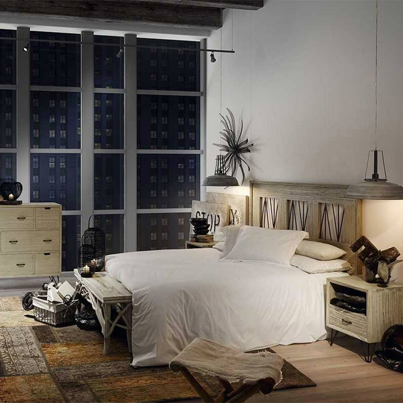 t te de lit mindi malaga mobilier en bois exotique. Black Bedroom Furniture Sets. Home Design Ideas