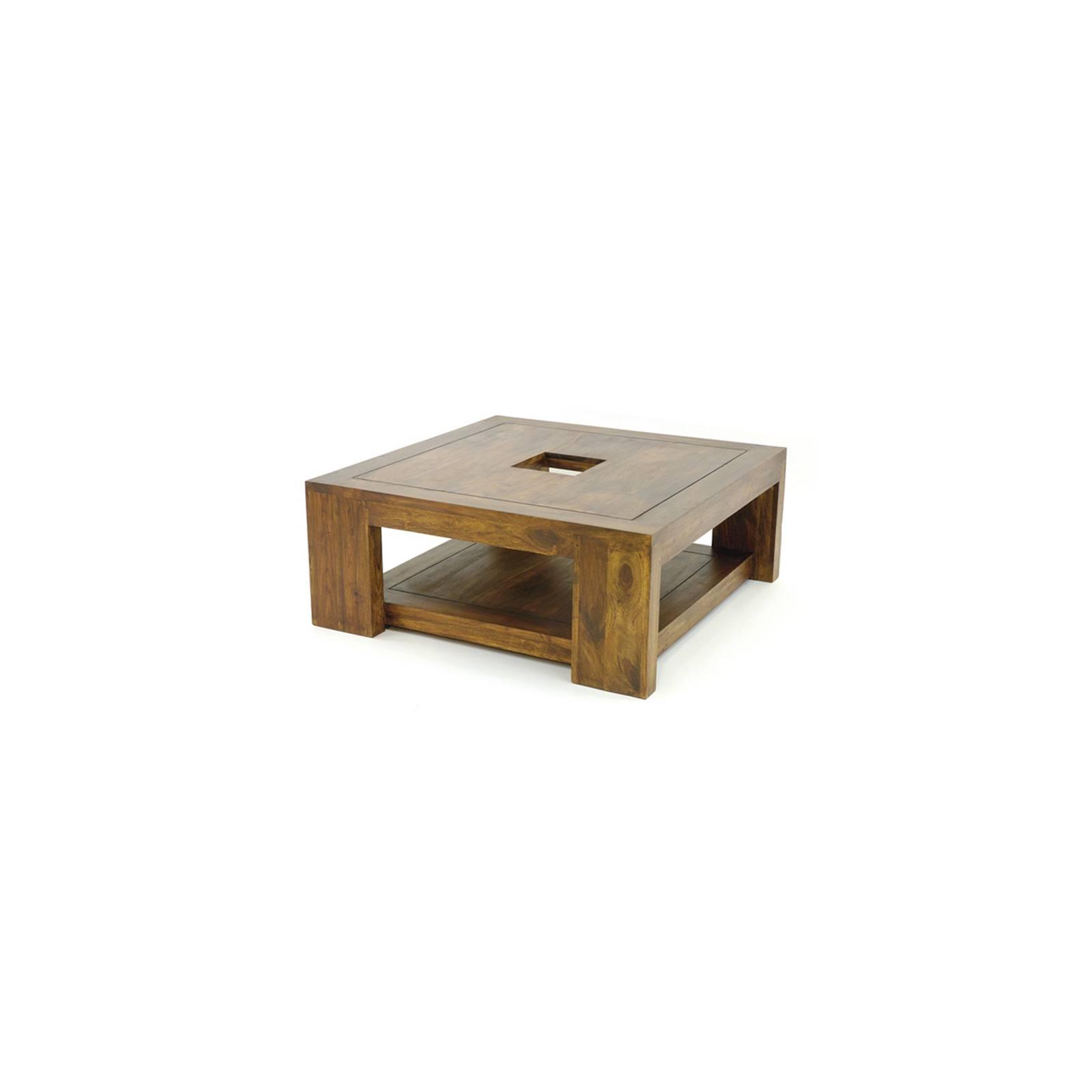 Table Basse Ethnique Palissandre Zen