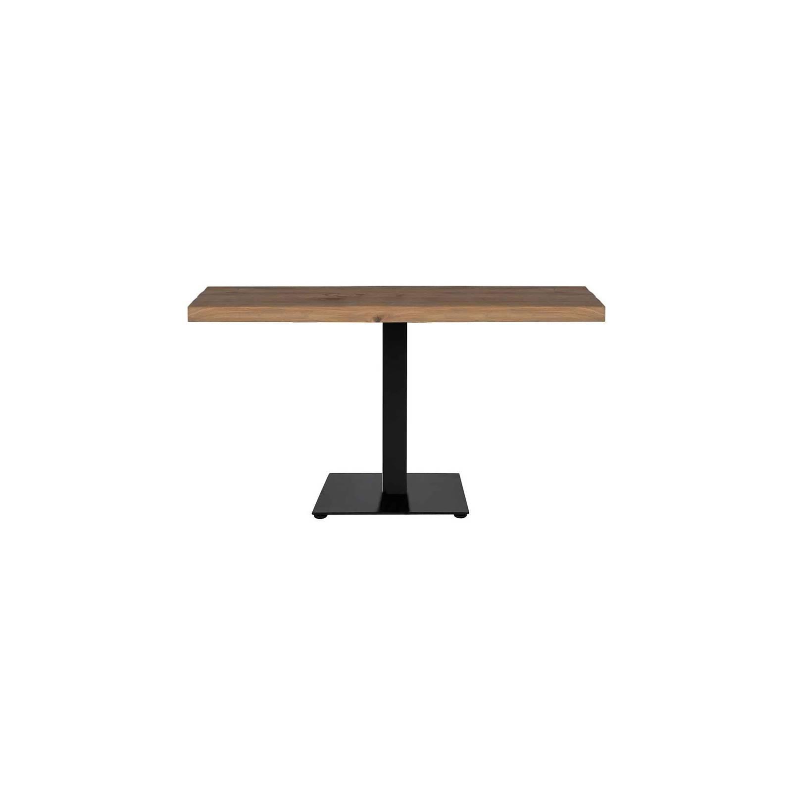 Table de salle rectangulaire Chêne Victoria - table de salle chêne massif
