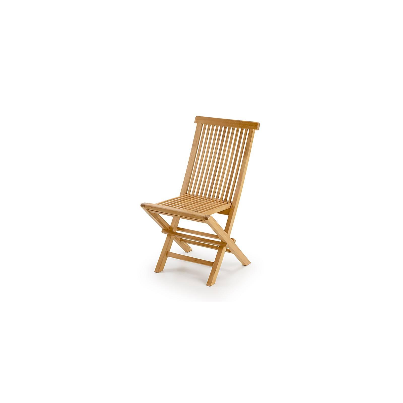 Chaise de jardin pliante en teck Greenwood