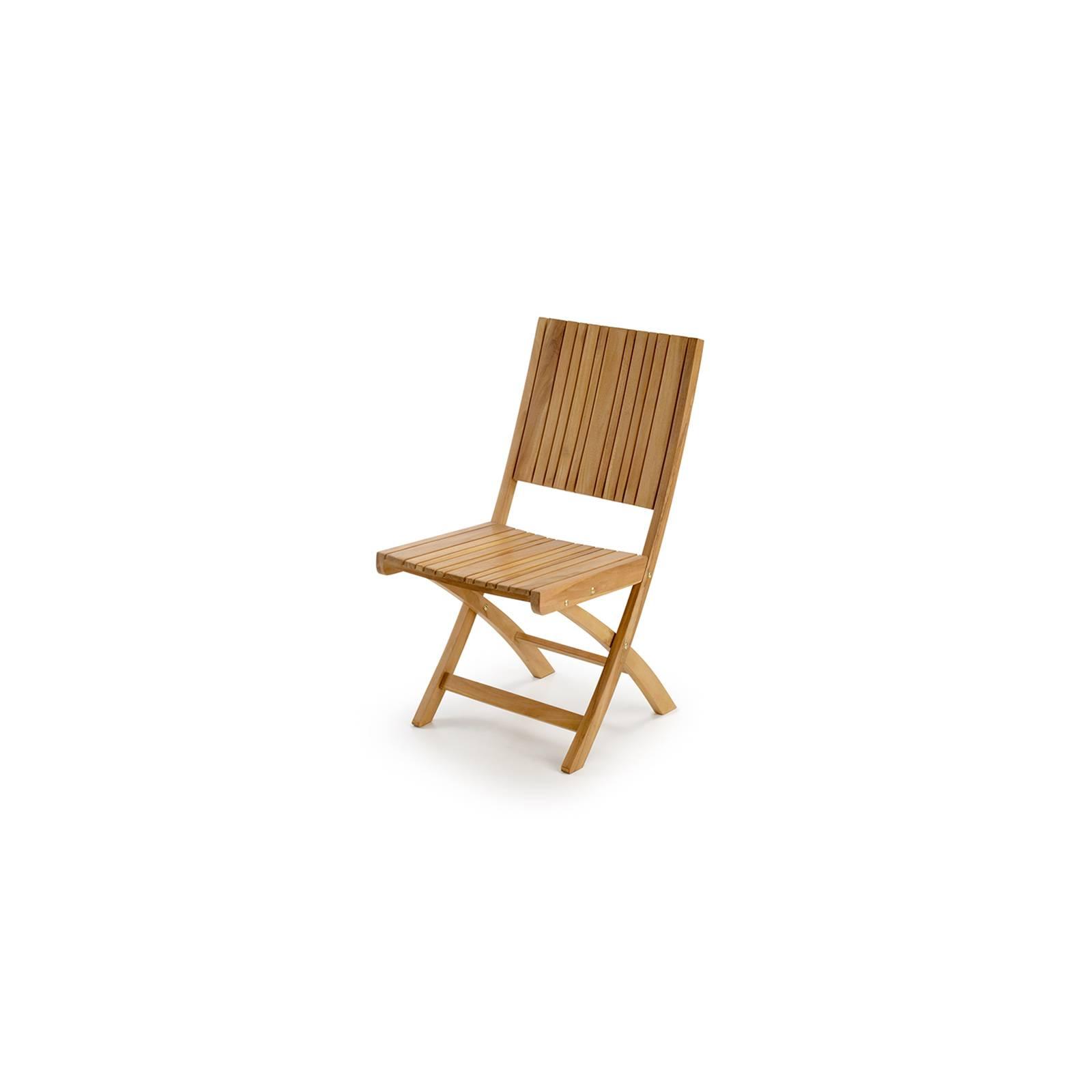 Chaise de jardin en teck Greenwood