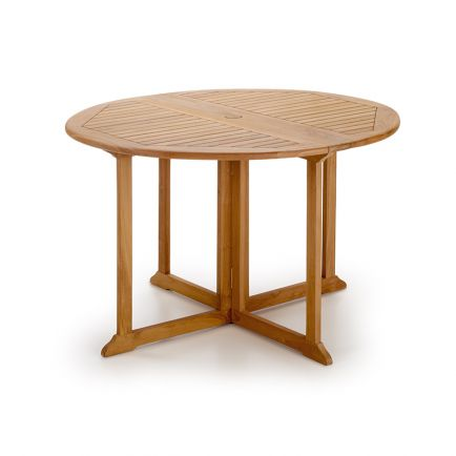 Table de jardin ronde pliante Greenwood Teck