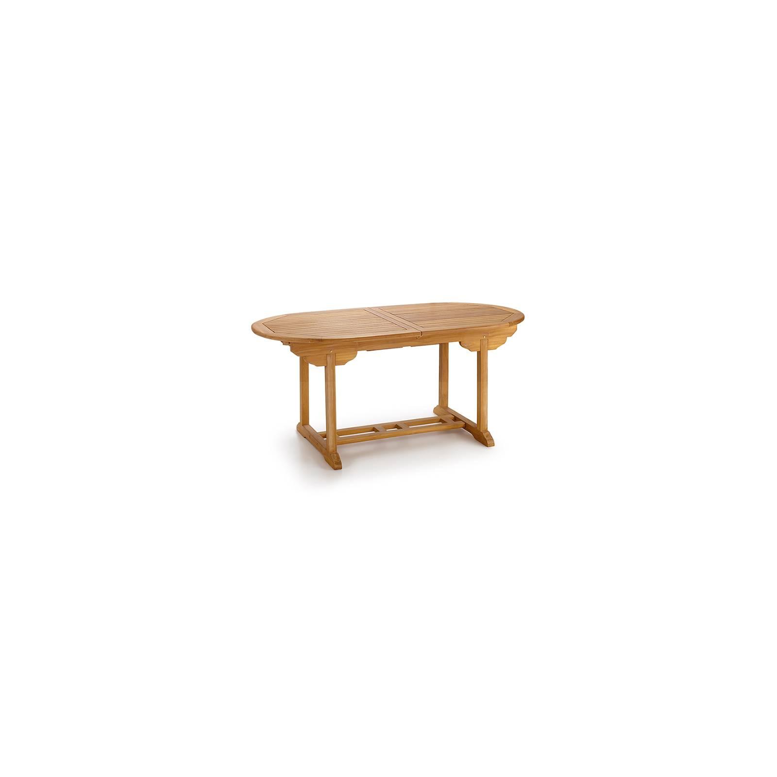 Table de jardin ovale en teck Greenwood