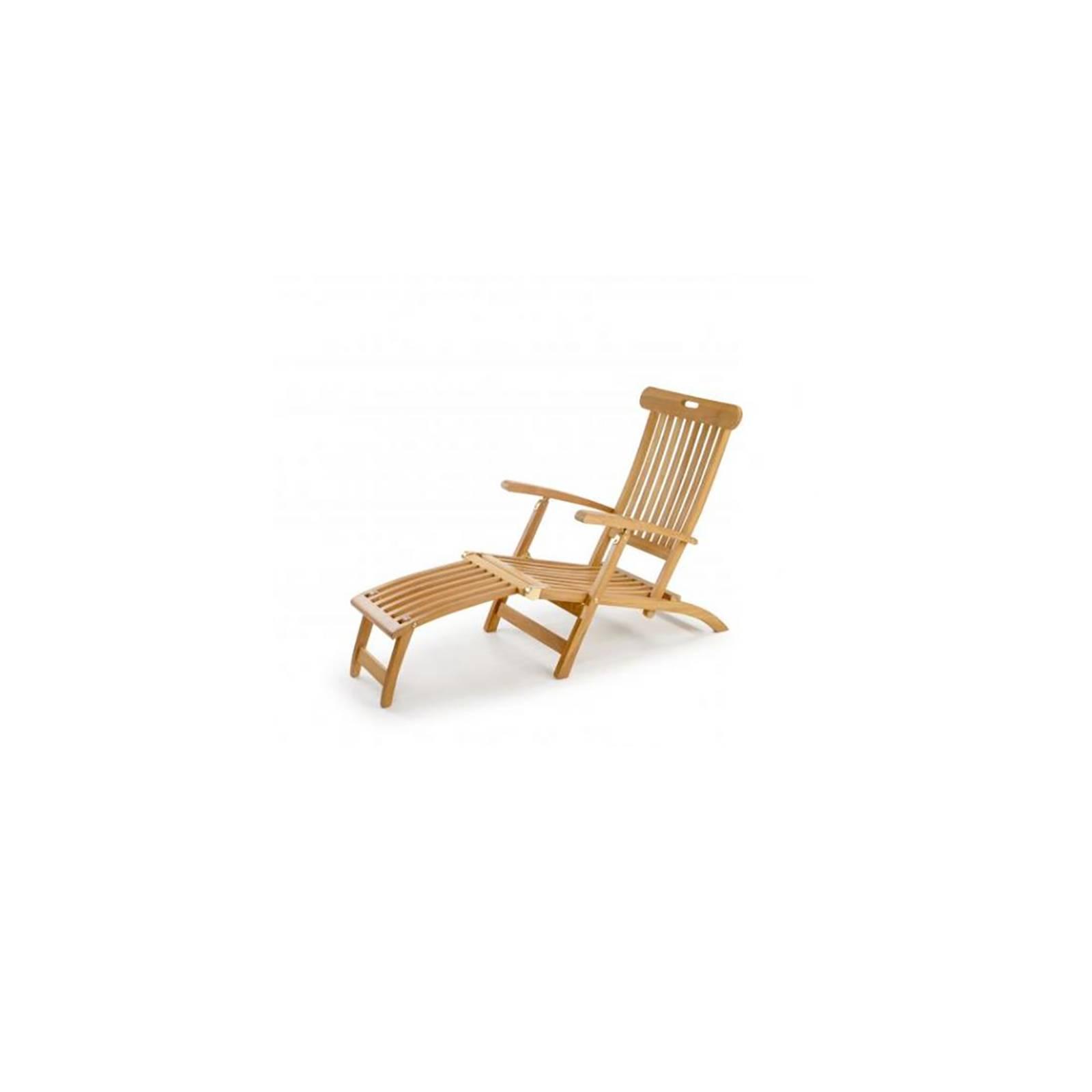Chaise longue en teck Greenwood
