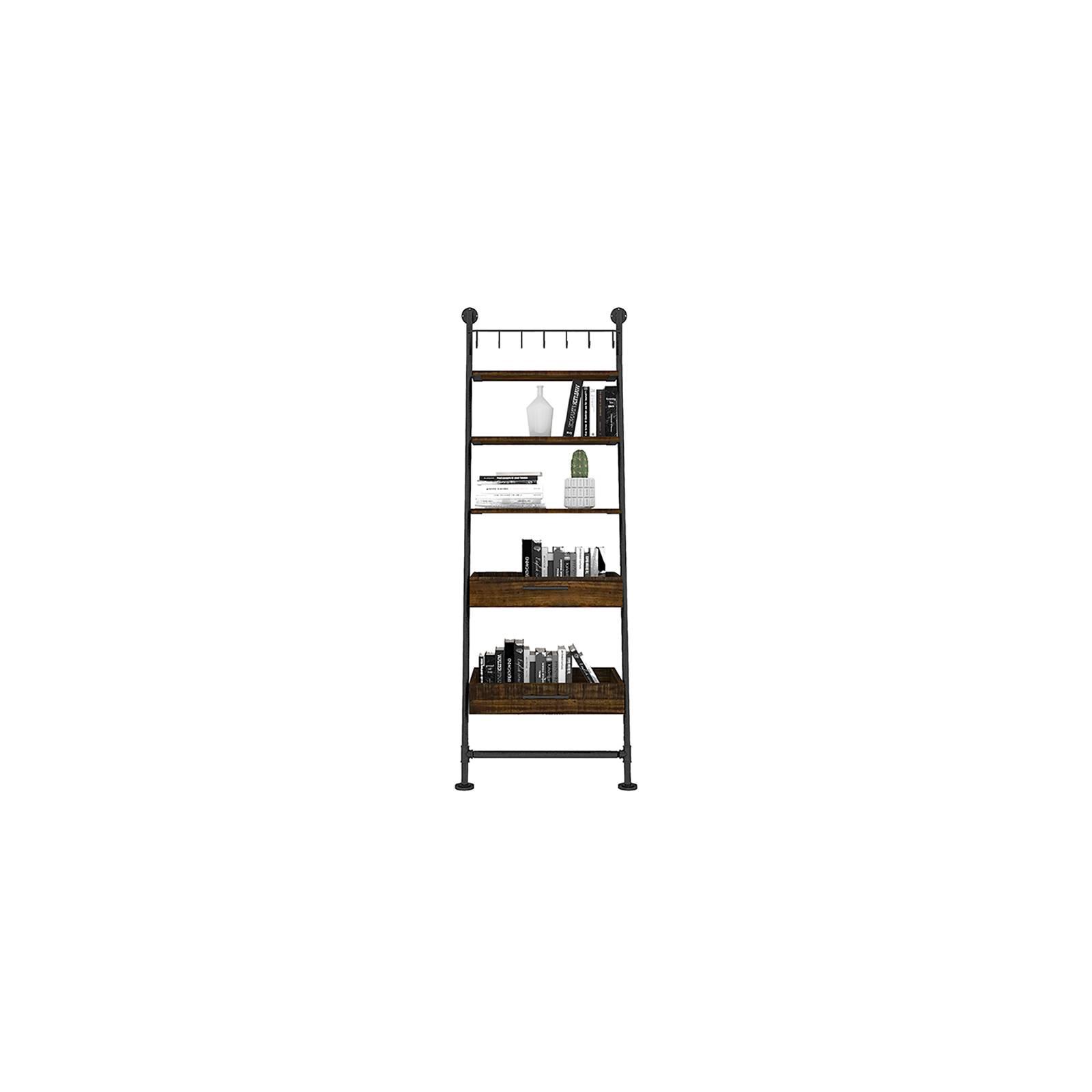 Etagère échelle 2 tiroirs Atelier Bois recyclé