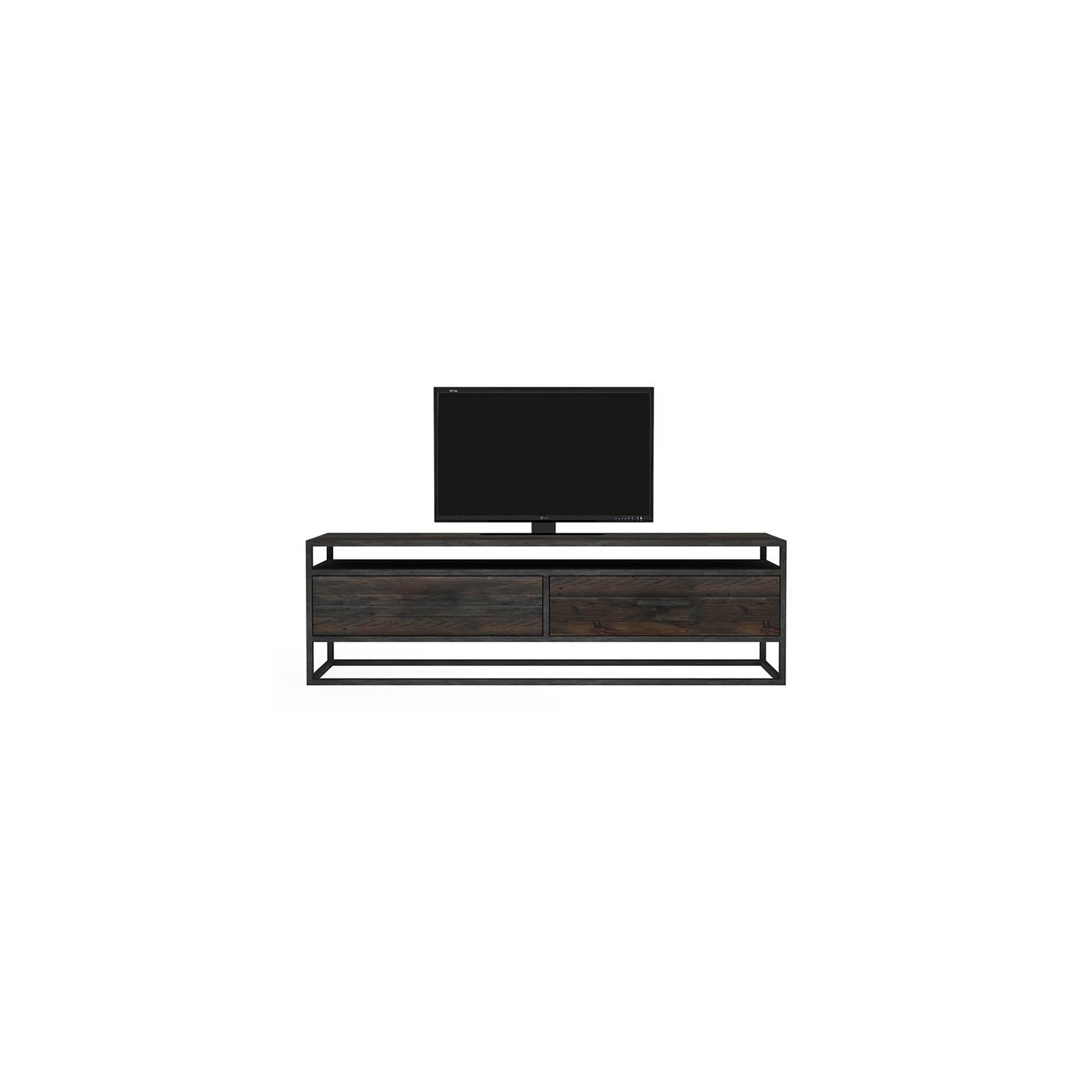 Meuble Tv 2 tiroirs Chicago Bois Recyclé