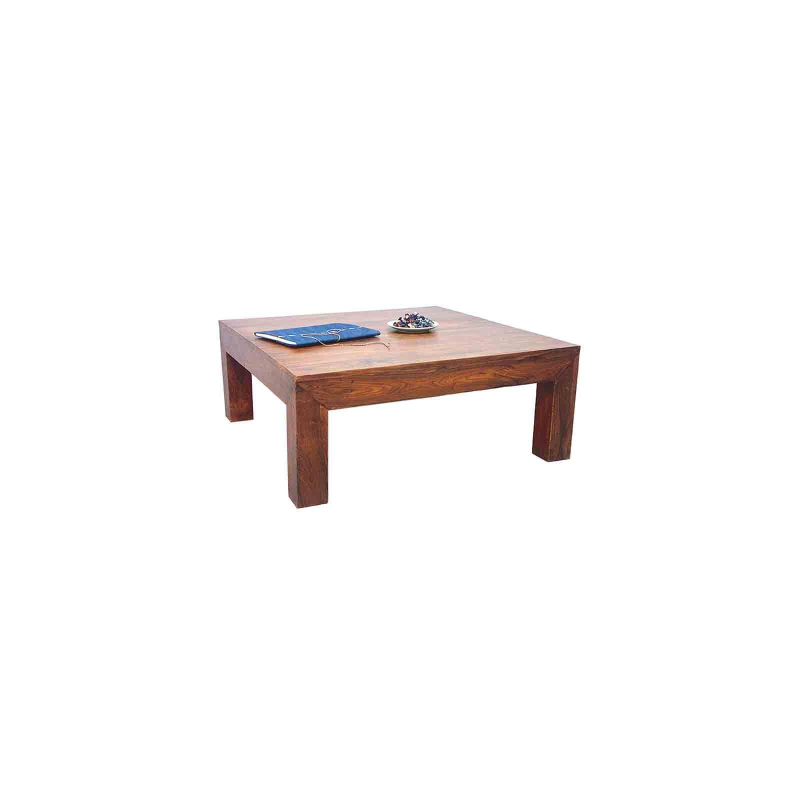Table Carrée 100 Zen Palissandre - meuble en bois massif