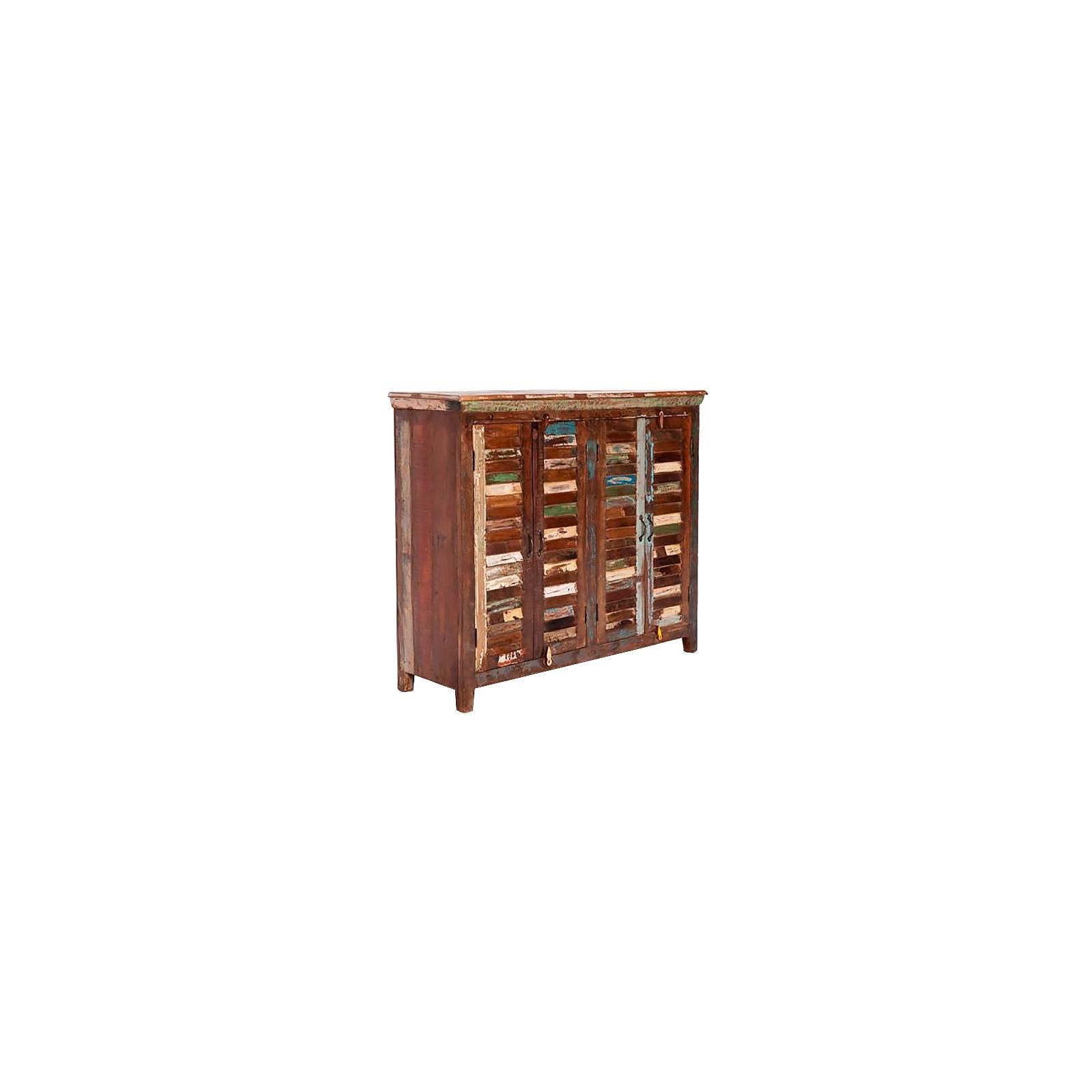 Buffet Teck Origine. Achat de meuble en bois recyclé.