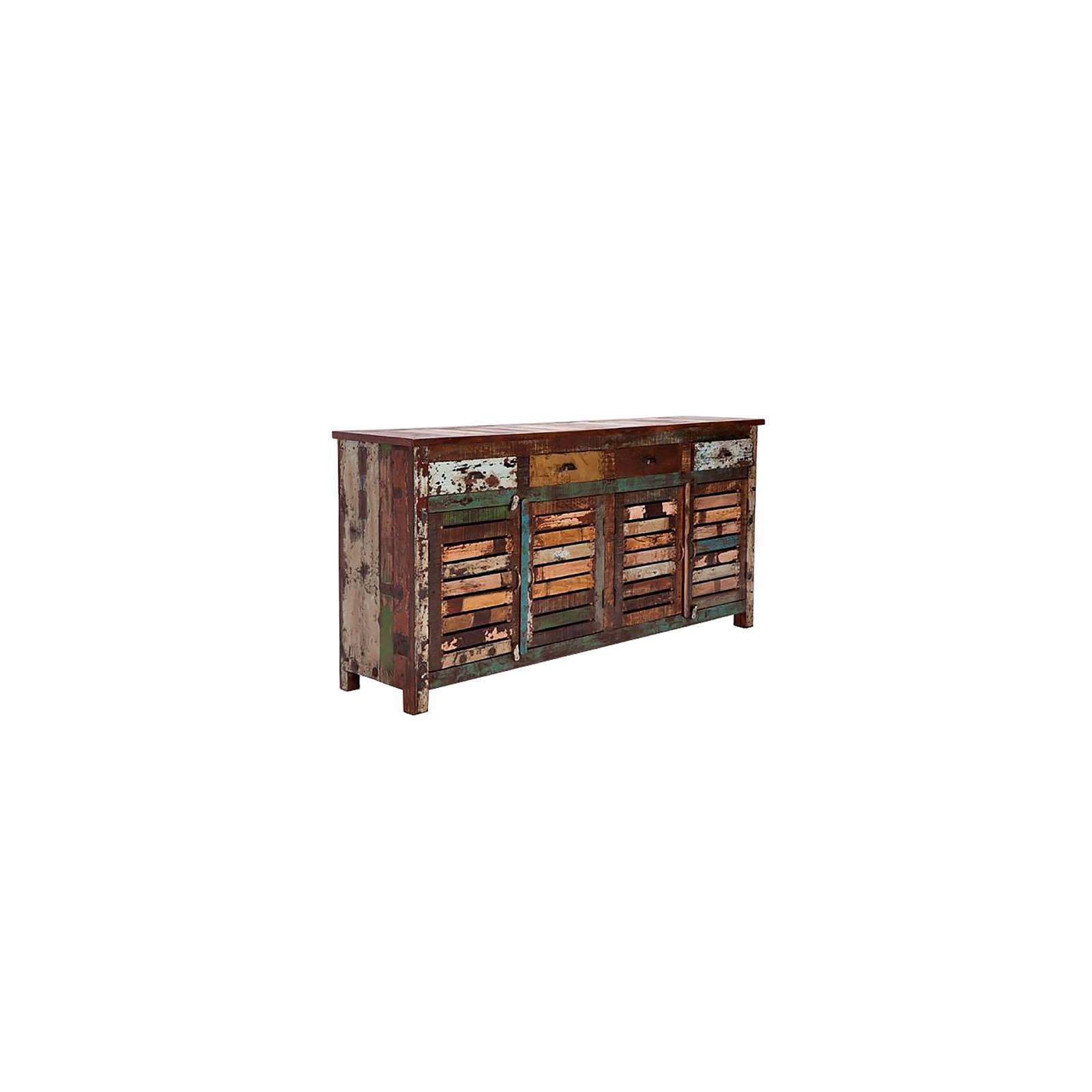 Buffet Bas Teck Origine. Achat de meuble en bois recyclé.