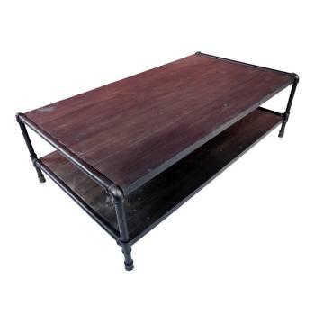 Table basse rectangulaire Atelier Bois recyclé