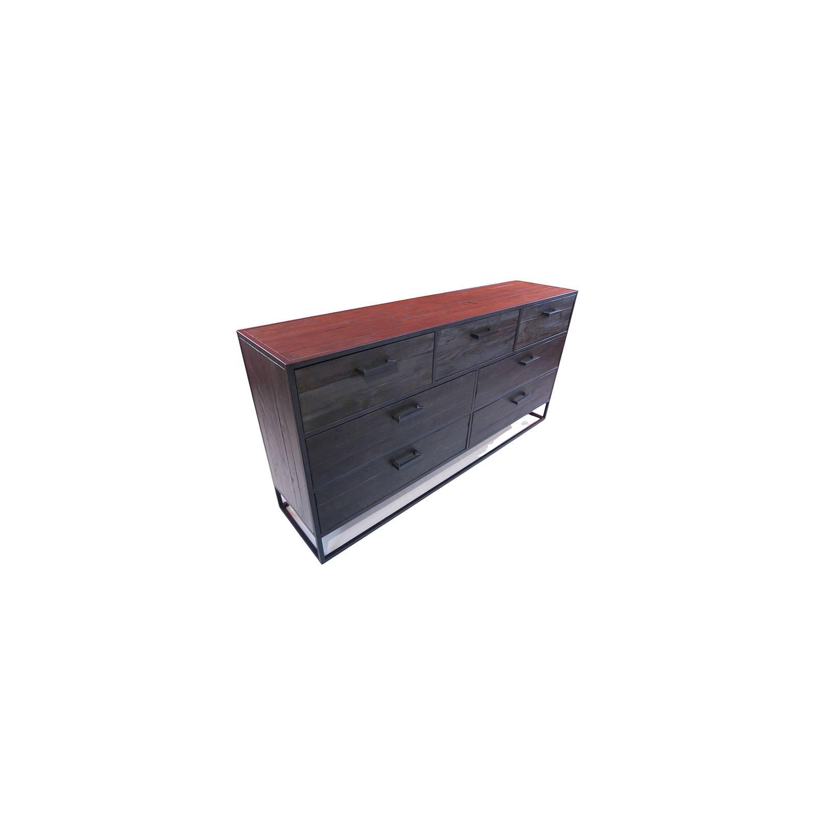 Commode 7 tiroirs Bois Recyclé Chicago