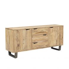 Buffet Industriel Bois Naturel | Acacia Jungle