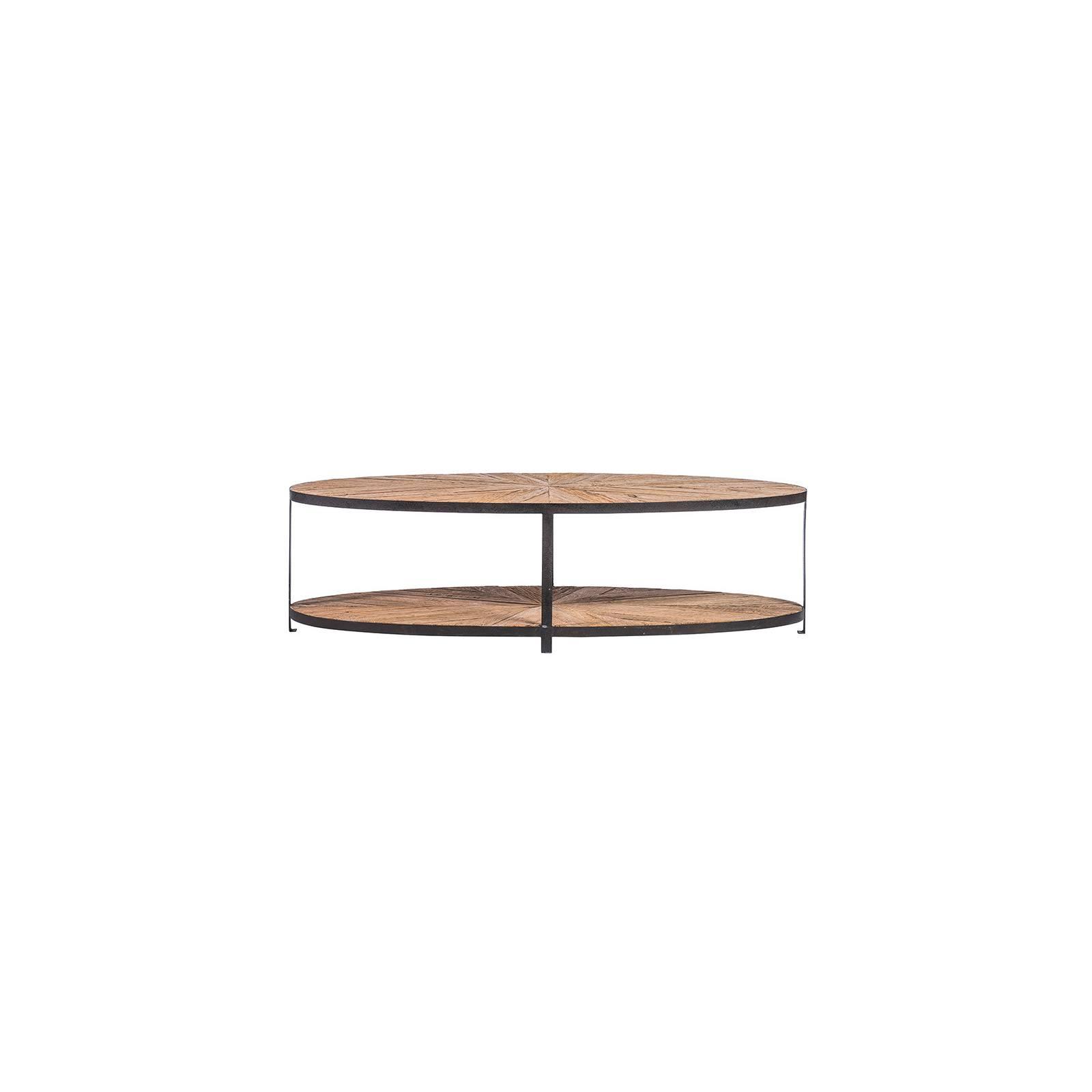 Table basse ovale | Chêne Brooklyn