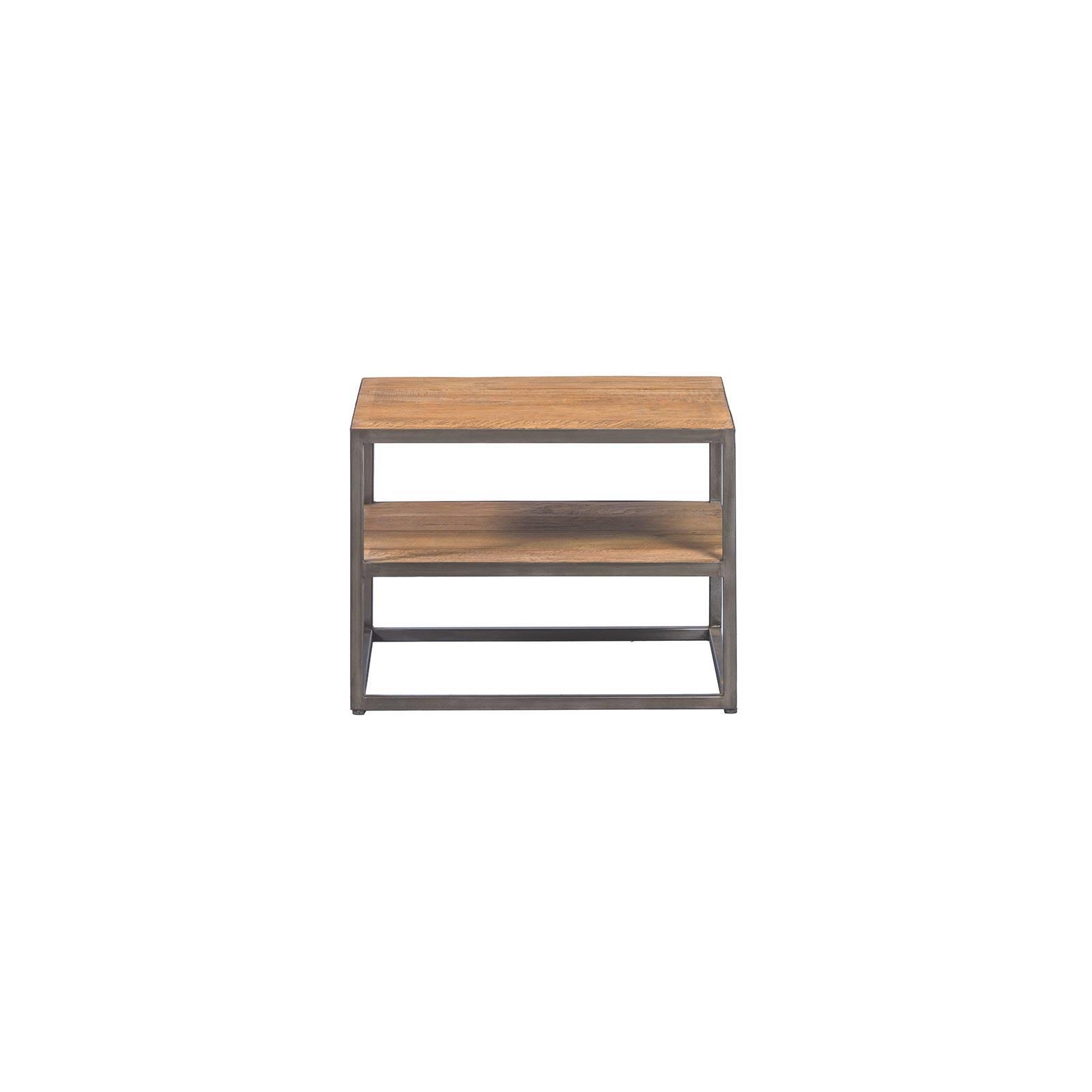Table basse carrée   Teck Essential